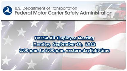 Federal Motor Carrier Safety Association Fmcsa