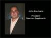 Interview with John Koutsaris Spectrum Supplements, Inc.
