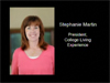 Interview with Stephanie Martin, President College Living