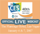 Live Webcast of the 2007 Storage VisionsTM Conference
